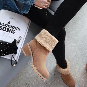 Fur Heeled Boots